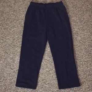 Karen Scott Sport Black Sweatpants - MP (New!)
